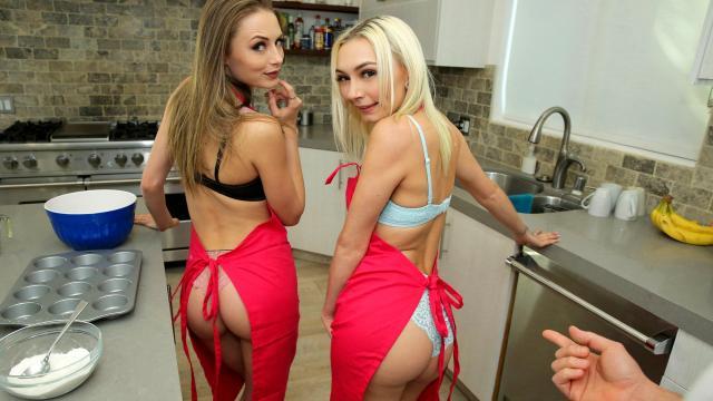 Задрал своей девушке юбку и выебал на прозрачном балконе