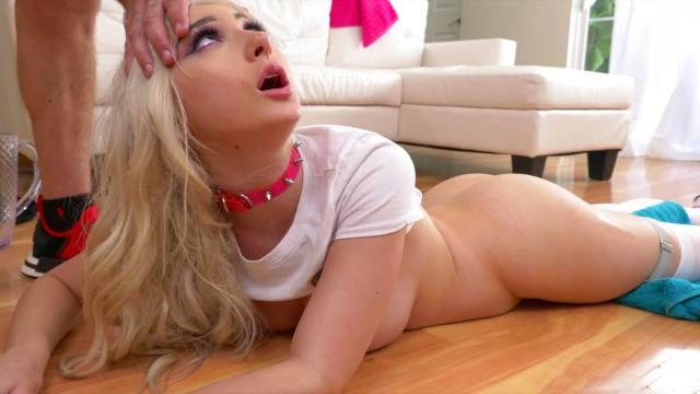 Русский брат нагибает раком и долбит сестру во влажную щель